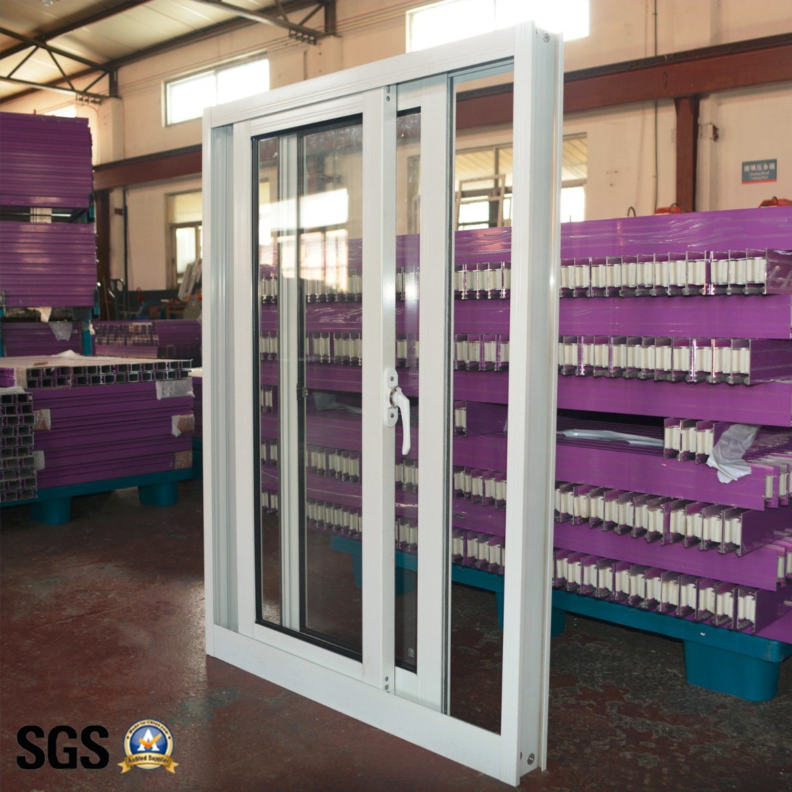 Powder Coated Andoized Surfacement Aluminum Sliding Window K01013
