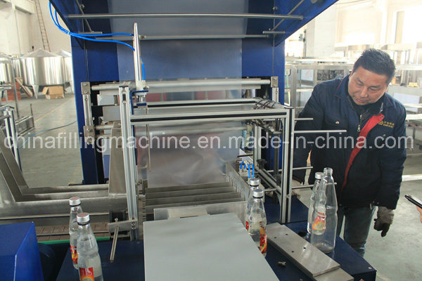 High Quality Film Shrink Wrapping Machine for Bottles
