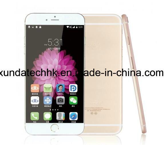 China Mobile Phone Quad Core Mtk CPU 5.5 Inch 6splus