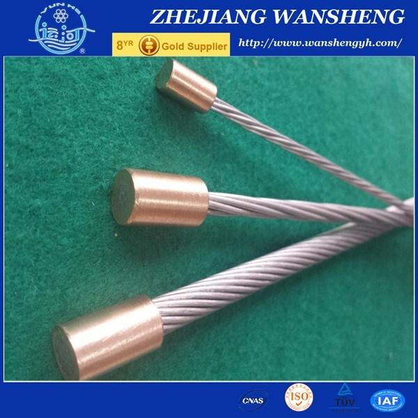 7/2.03mm High Tensile Guy Wire Galvanized Steel Wire Strand ASTM BS En