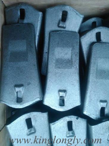 Hitachi Construction Machinery Bucket Teeth Forging Not Casting 35s