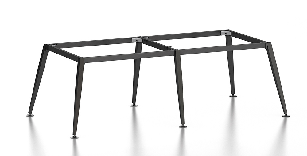 Black Customized Metal Steel Office Conference Desk Frame with Ht80-3
