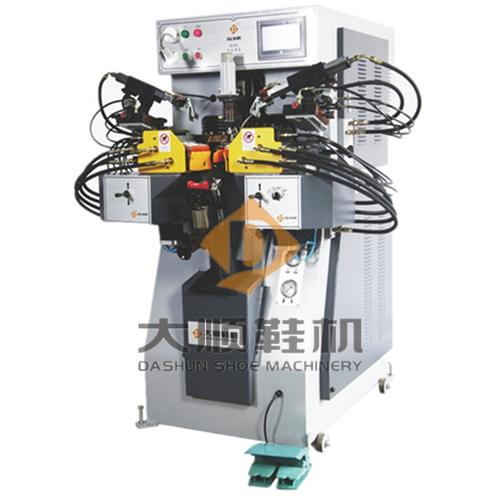 Ds-658zn Intelligent Side & Heel Lasting Machine for Shoe