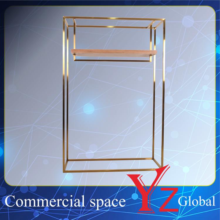 Display Rack (YZ161705) Stainless Steel Display Stand Display Shelf Hanger Rack Exhibition Rack Promotion Rack