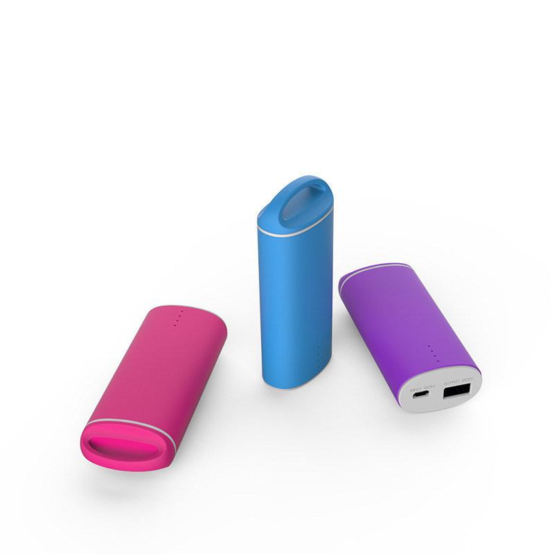Newest Design 5000mAh Portable Power Bank Mini Mobile Power