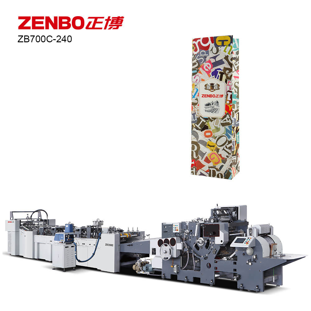 Automatic Paper Bag Making Machine (Zb700c-240)