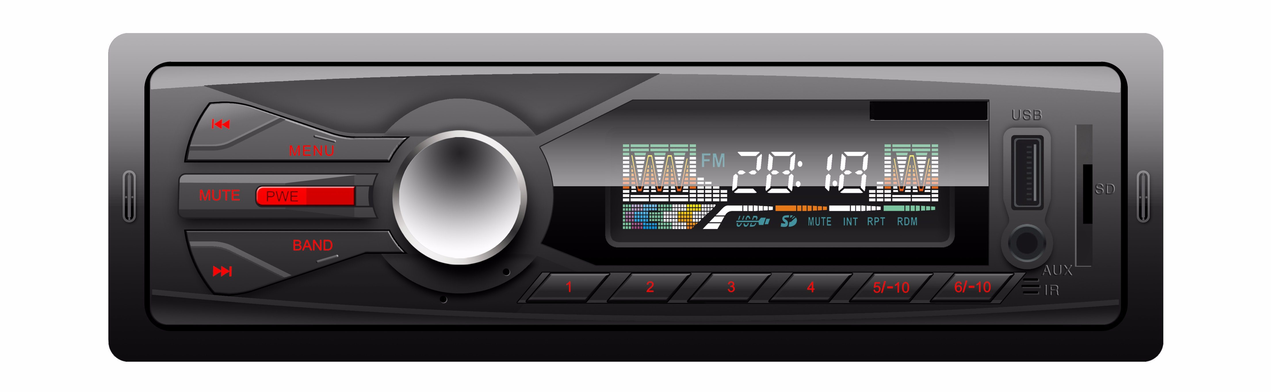 1 DIN Car MP3 Machine Car Audio with FM /USB/SD / Remote
