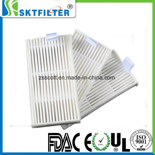 HEPA Filter with Cardboard Frame or Nonwoven Fiber Frame