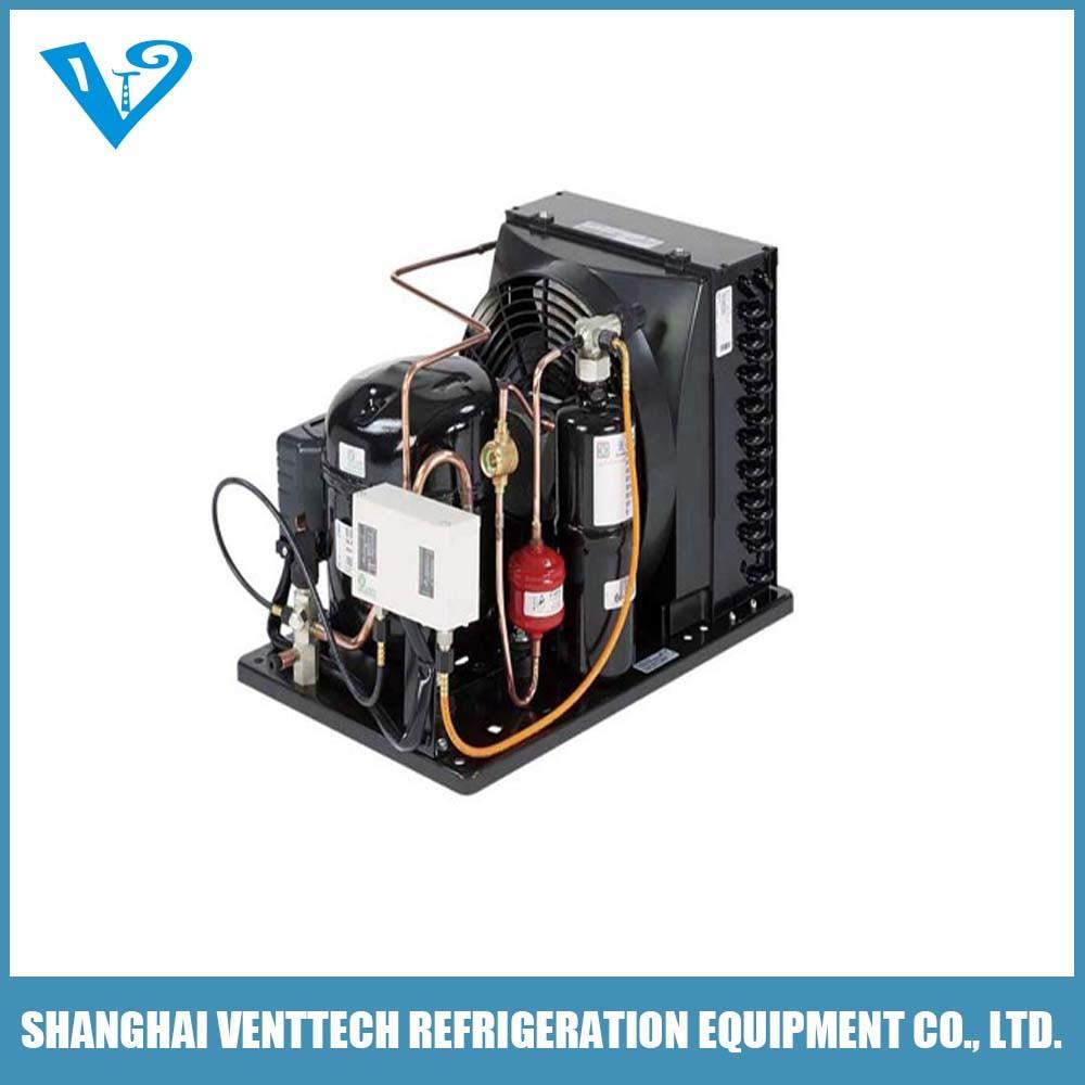 Variable Speed Compressor Condenser Unit for HVAC Application