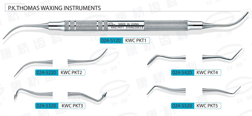 P. K. Thomas Waxing Instruments