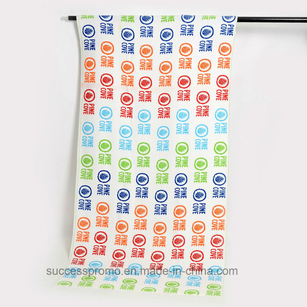 Promotional Microfiber Beach with Customized Design, Cotton Beach Towel