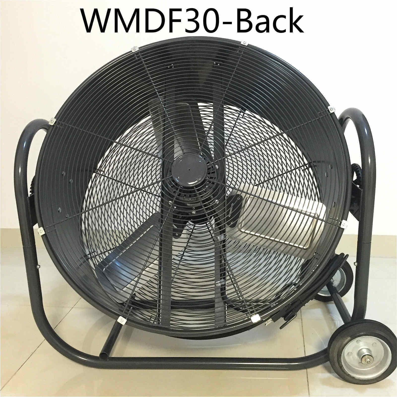 Drum Fan, Pedestal Fan, High Velocity Fan for Workshop, Patio, Basement, Warehouse, Factory, Mineral Factory, Garage etc.