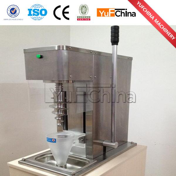 2017 Hot Sale Fruit Ice Cream Mixer