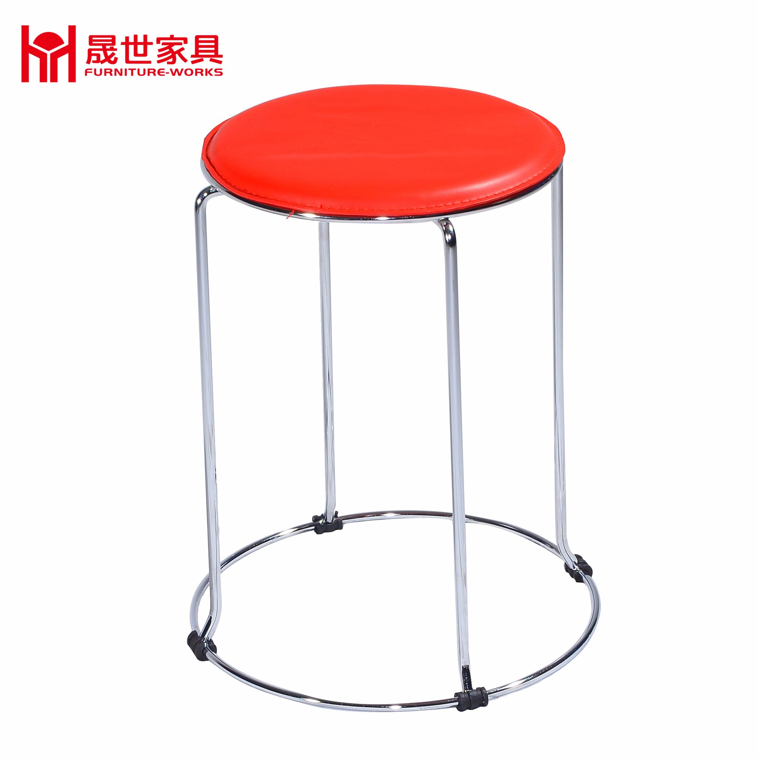 Red Color Round Leisure Chair