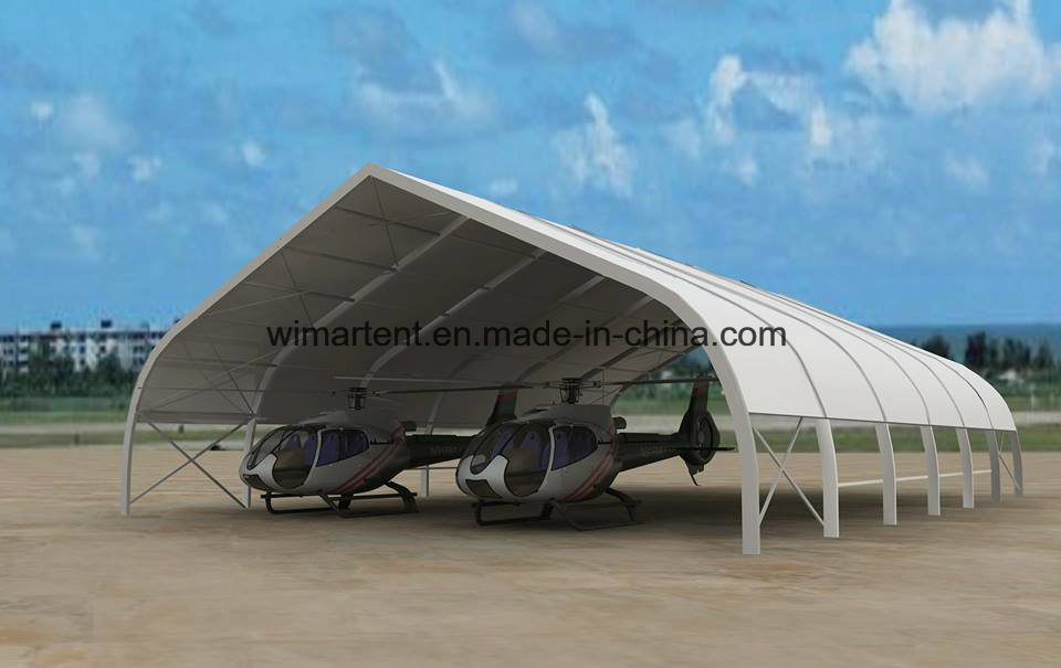 Aircraft Hangar Tent for Helicopter Storage