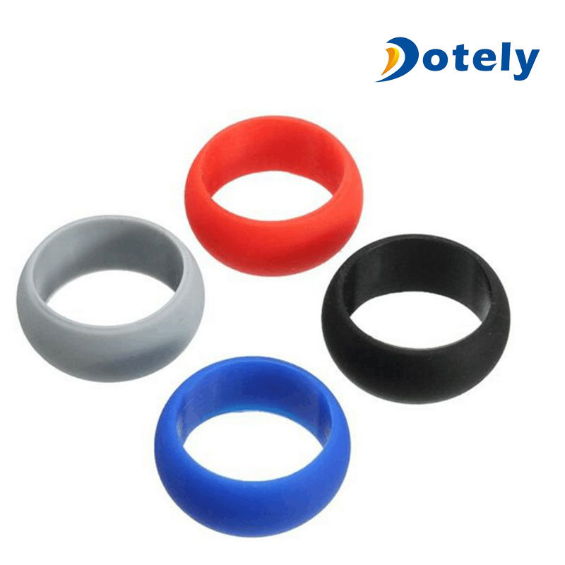 Fashion Jewelry Custom Silicone Wedding Rings
