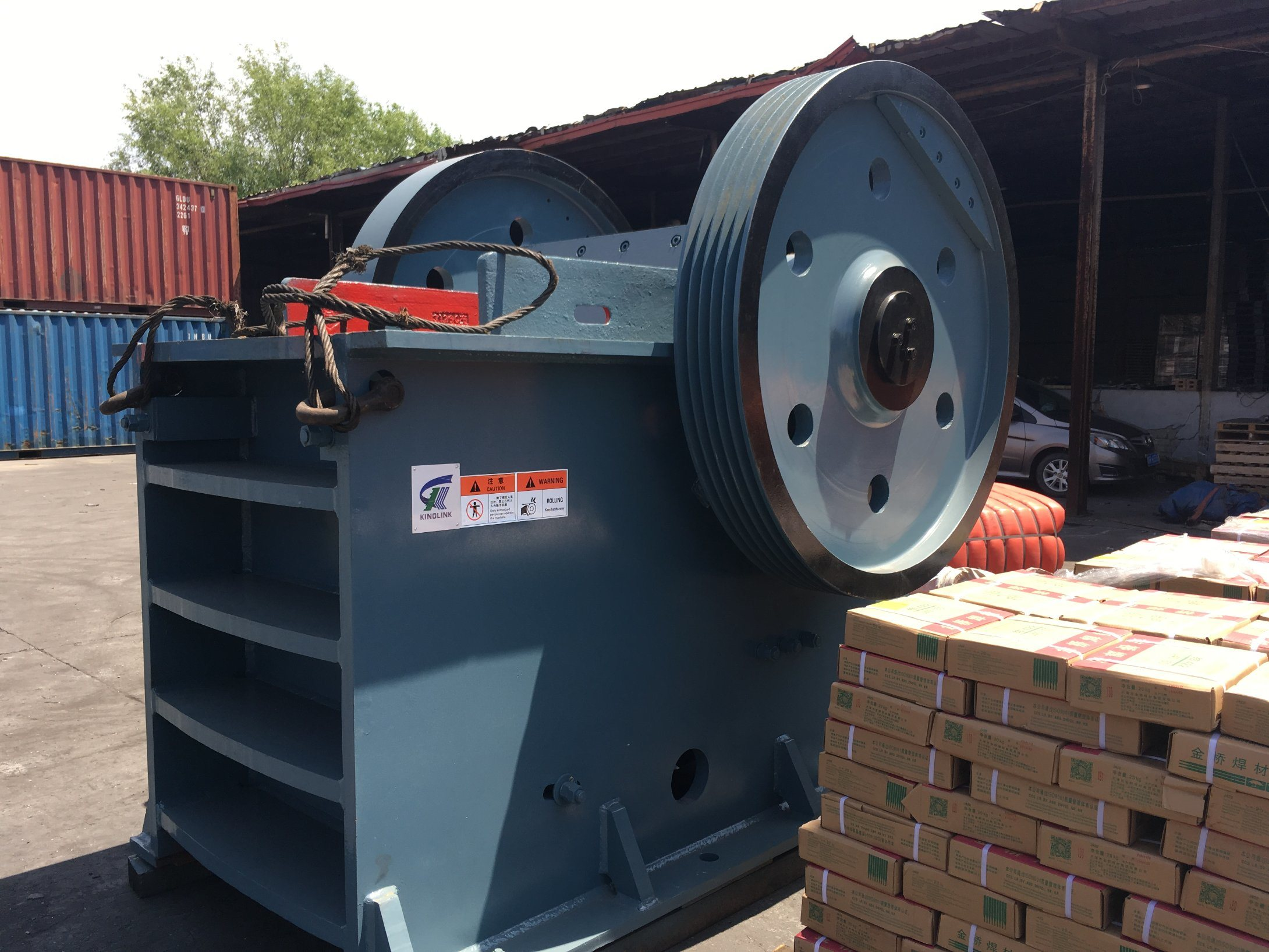 High Quality Stone Jaw Crusher PE24X36 for Rock Crushing
