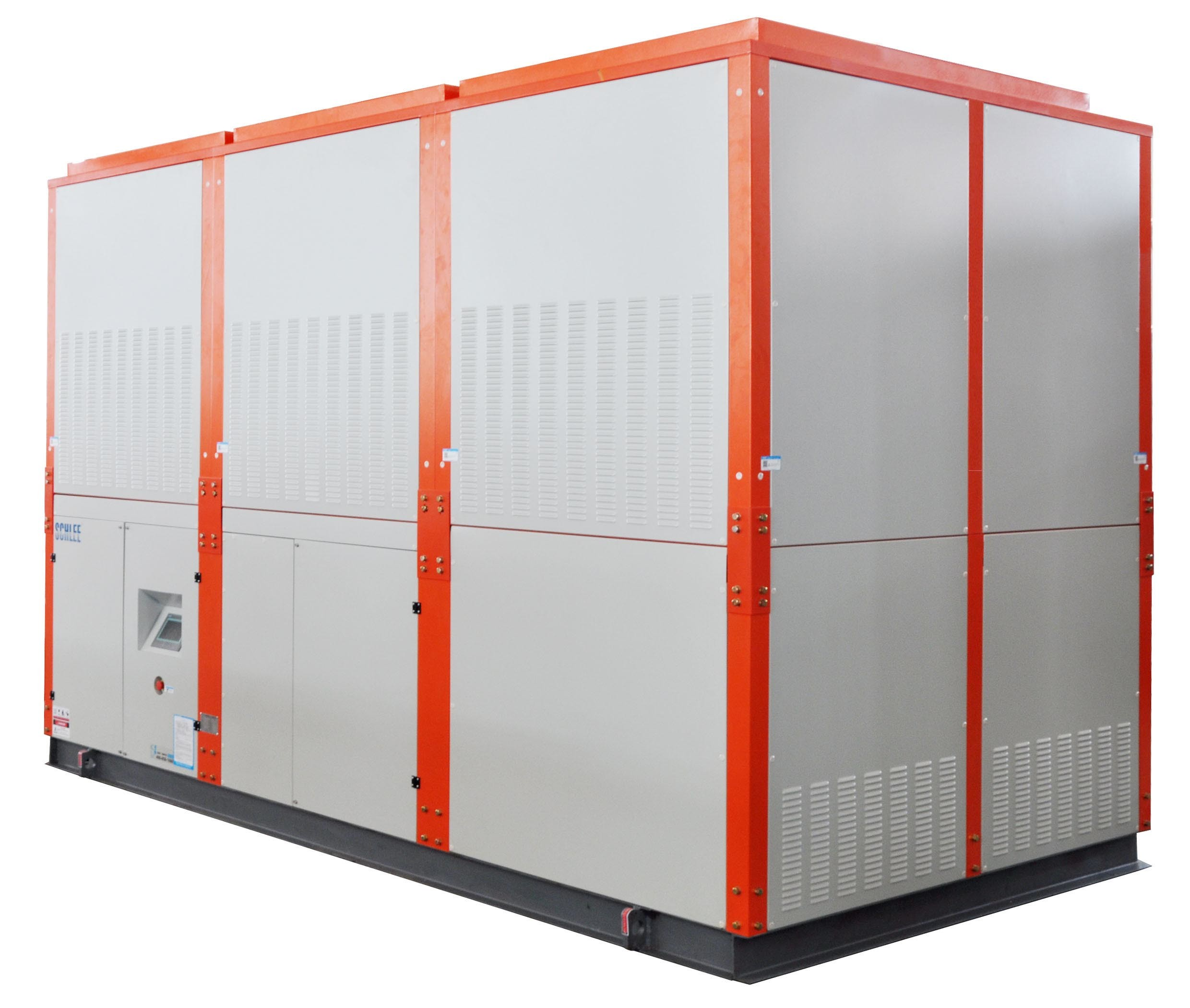 R22 M140zh4 Industrial Intergrated Evaporative Cooled Water Chiller System