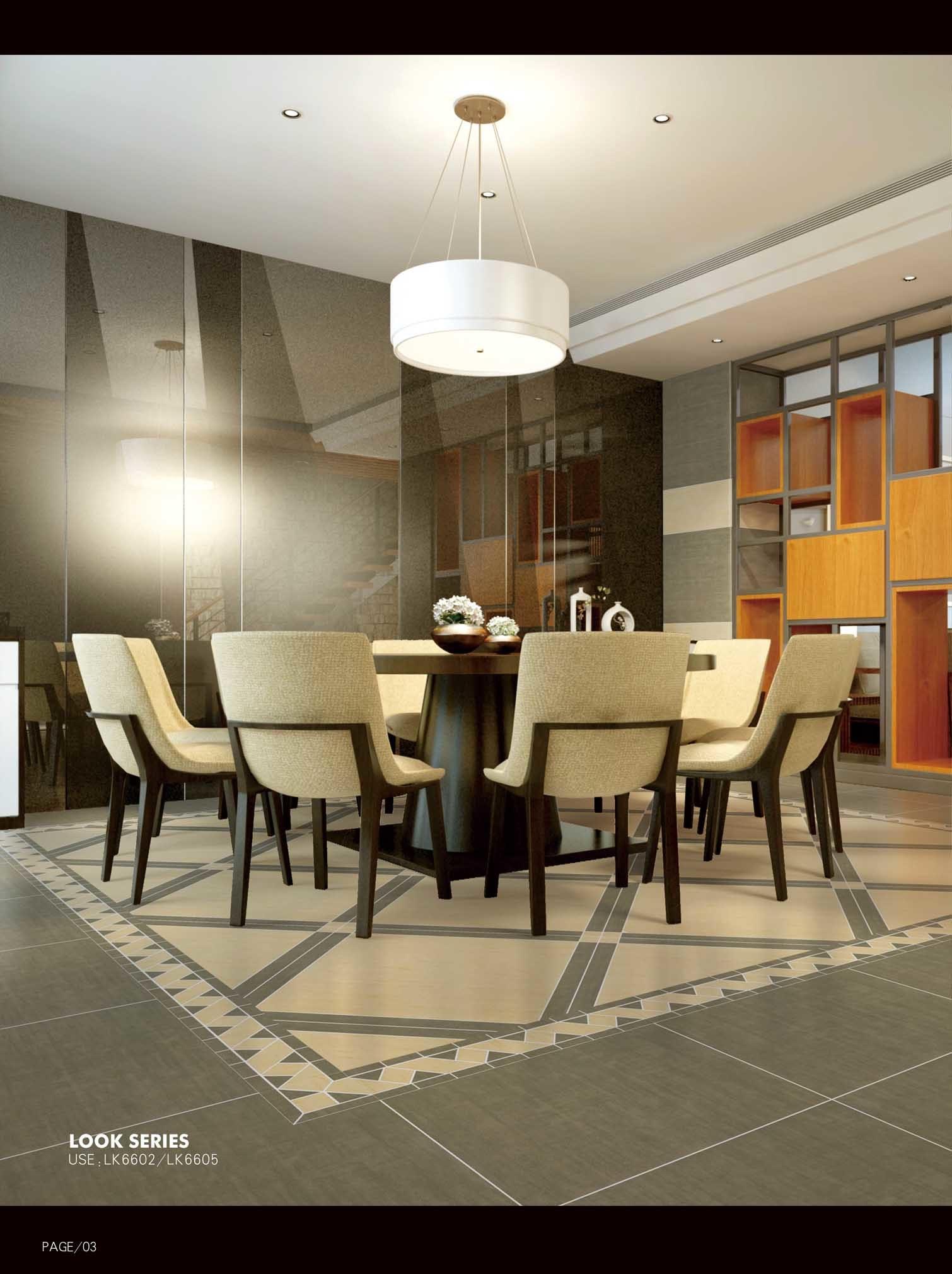 Building Material Porcelain Tiles Floor Tile 600*600mm Anti-Slip Rustic Bone Color Tile