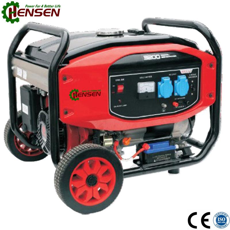 New Design Gasoline Engine Powered 2kw Gasoline Generator