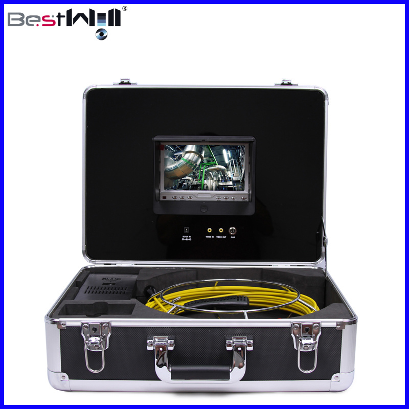 Waterproof 23mm Pipe Inspection Camera CR110-7D with 7′′ Digital LCD Screen and 20m to 100m Fiberglass Cable