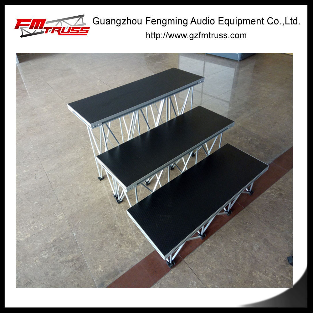 Hot Sale Aluminum Alloy Stage 0.3-1m Height Stage Type
