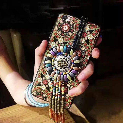 Fashionable Ethnic Style Mobile Phone Case for iPhone6/6s/7/7s