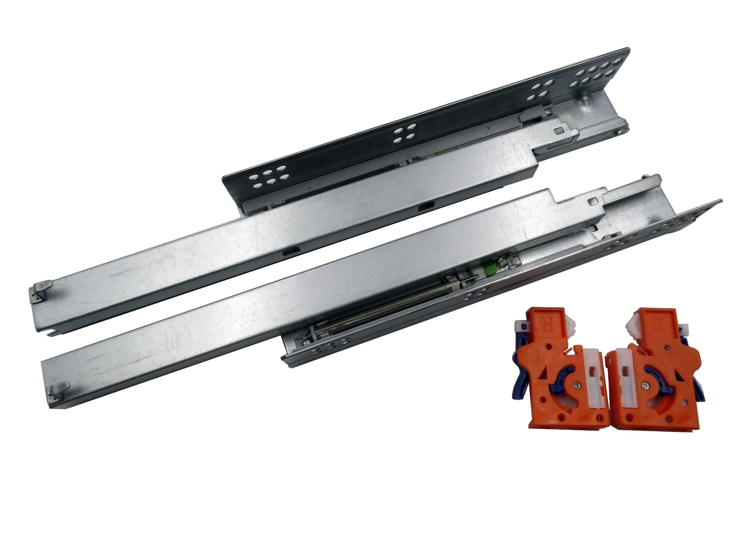 Three Fold Full Extension Concealed Drawer Runner