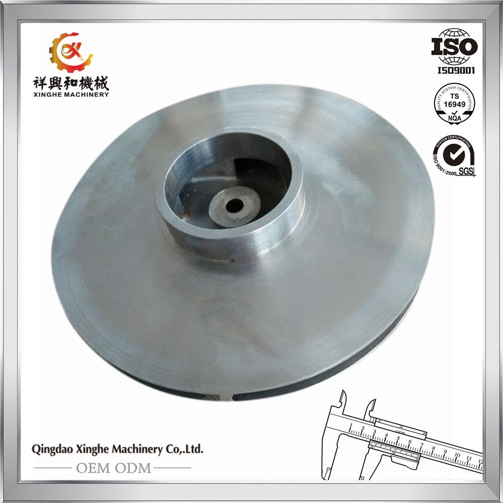 Stainless Steel Flywheel Customized Precision Casting Flywheel