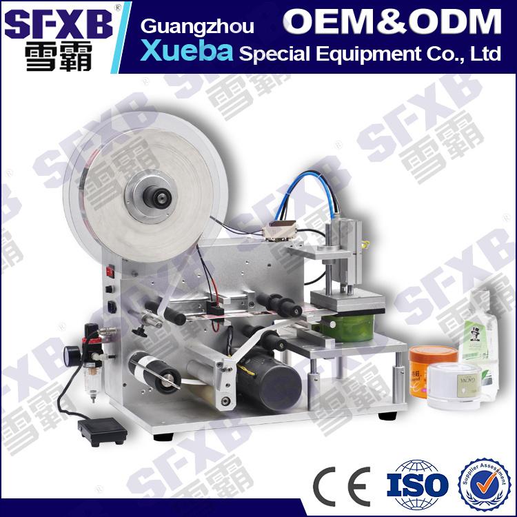 Sfpt-1 Semi Automatic Flat Surface Bottle Labeling Machine