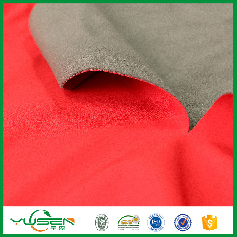 Warp-Knitting Poly Waterproof Breathable Laminated Fabric