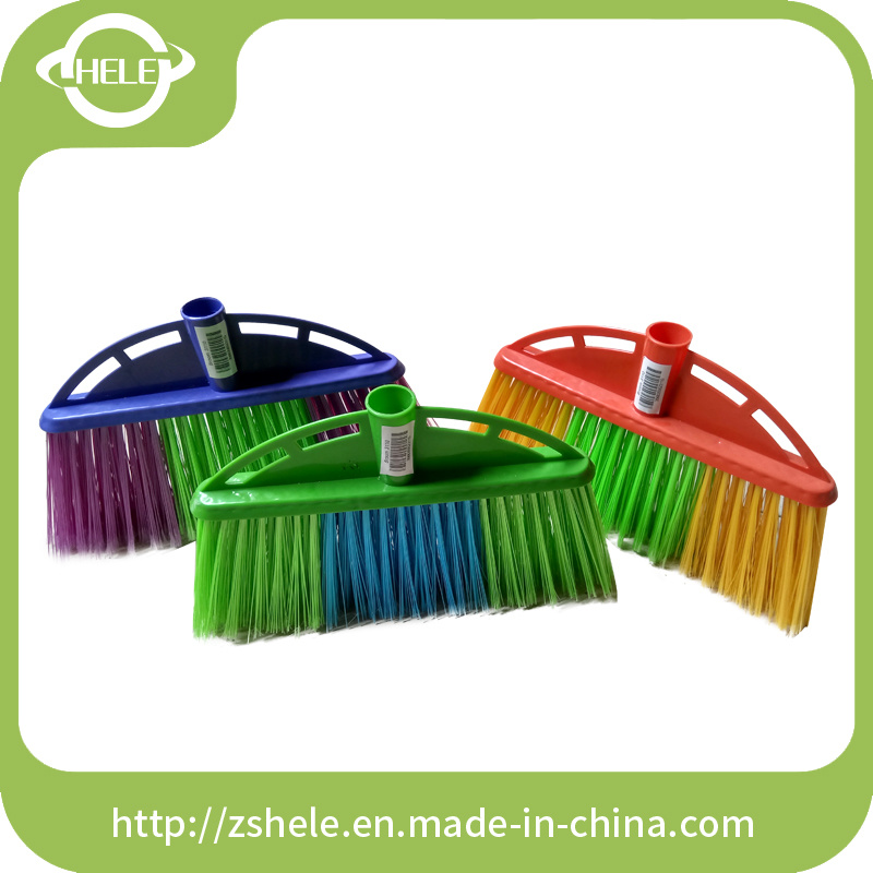 2016 New Color High Quality Plastic Cleaning Soft Broom