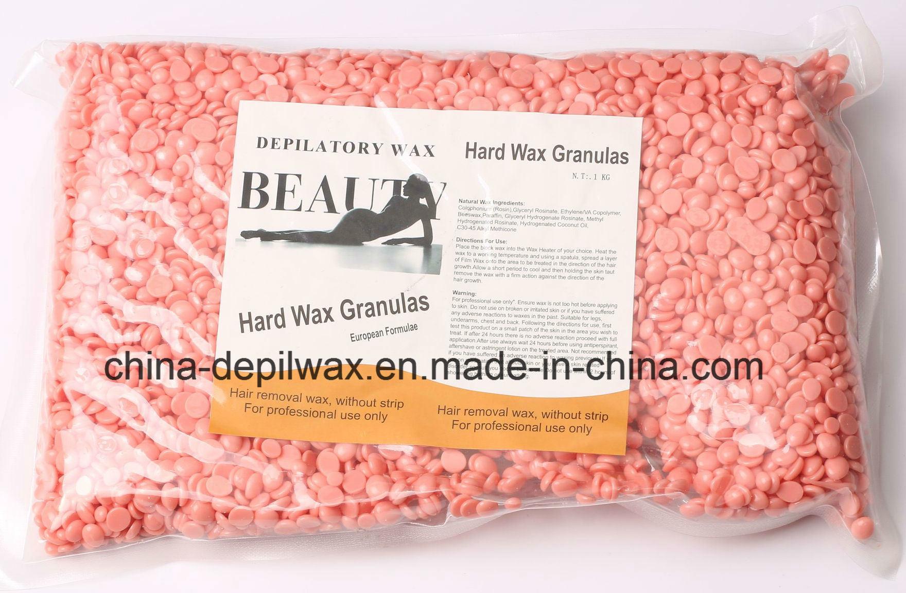 Tea Tree Hard Wax Pellets Depilatory Wax for Bikini Waxing
