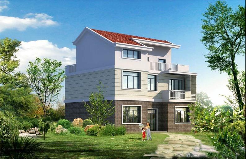Environmental Friendly House Luxury Prefab House Building