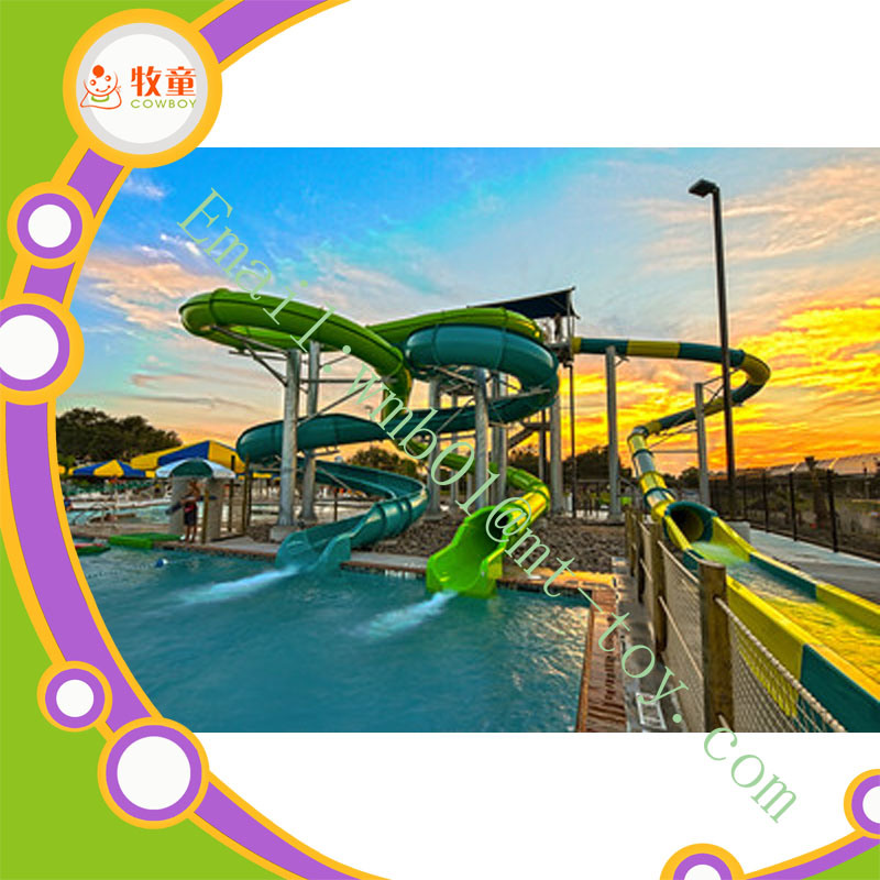 Water Park Equipment, Fiberglass Water Slide, Water Slide for Sale Type Water Park Equipment for Sale