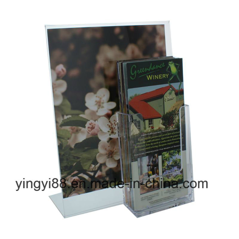 New Design Acrylic Sign/Brochure Holder