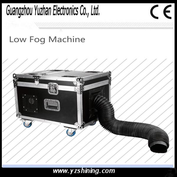 DMX512 Stage Effect Machine 3000W Low Fog Manchine