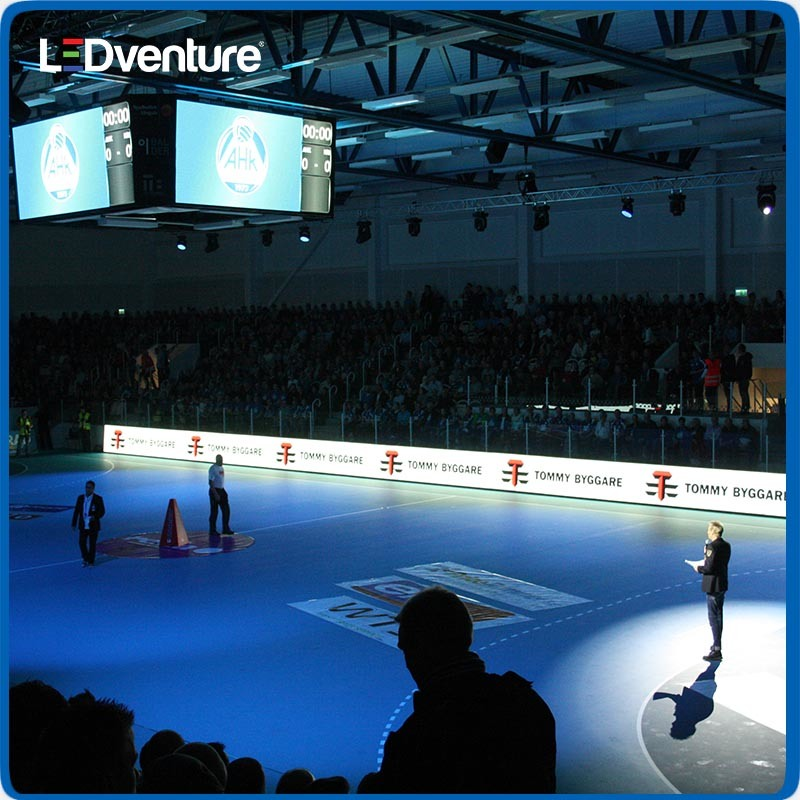 pH10 Indoor Perimeter LED Display Board for Sports Rental