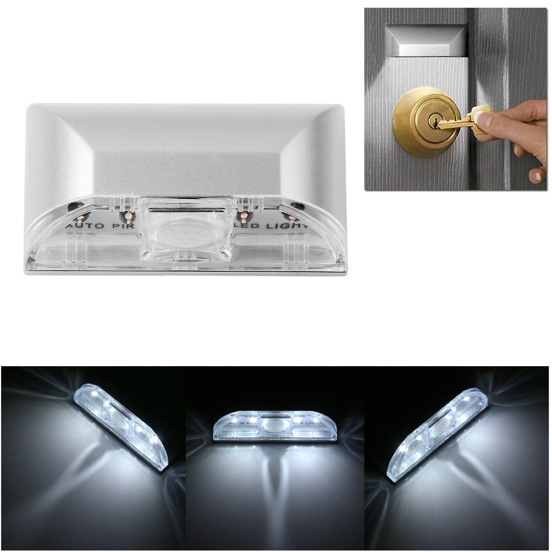 Human Infrared Smart Wireless Motion LED Door Sensor Night Light