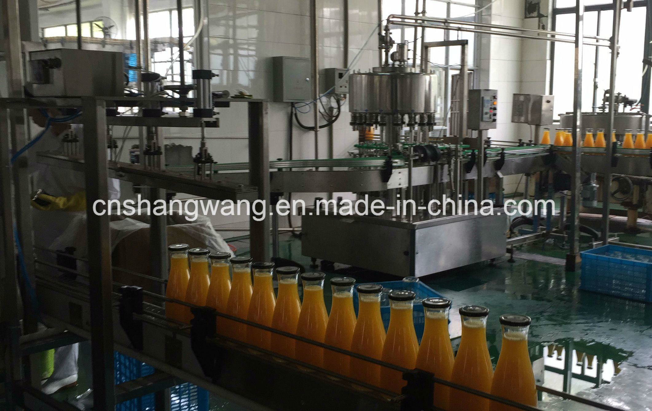 Complete Orange Juice Production Line