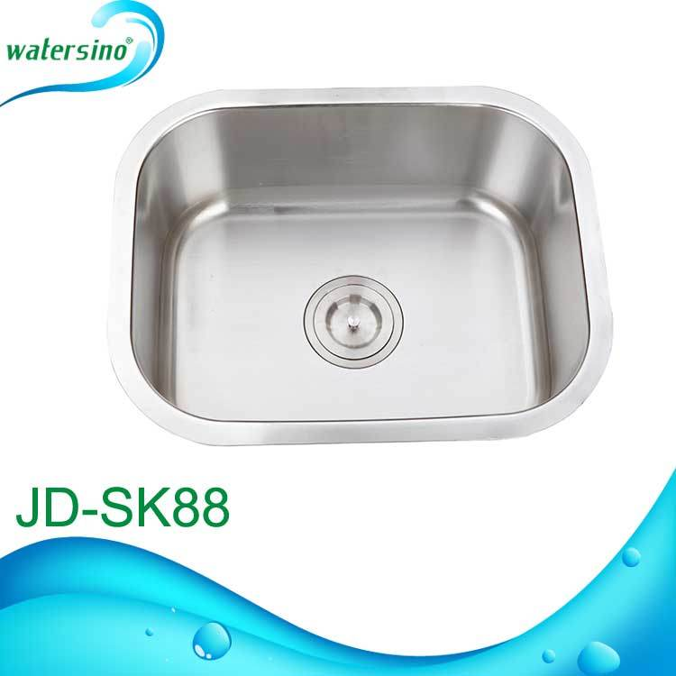 Hot Sale Stainless Steel Rectangular Single Bowl Water Kitchen Sink
