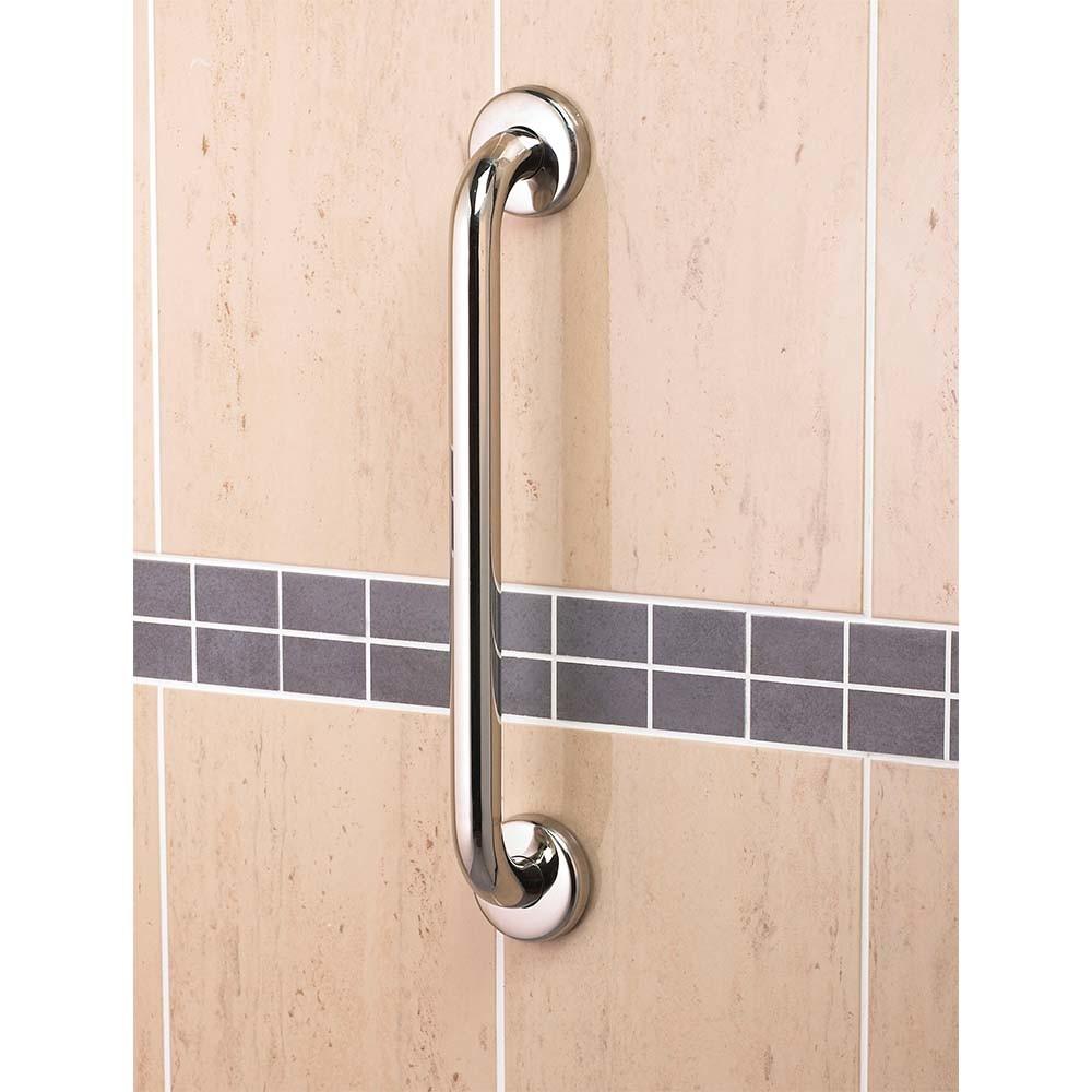 Polish Grab Bar Chrome Grab Rail Safety Grab Support Bathroom Handle