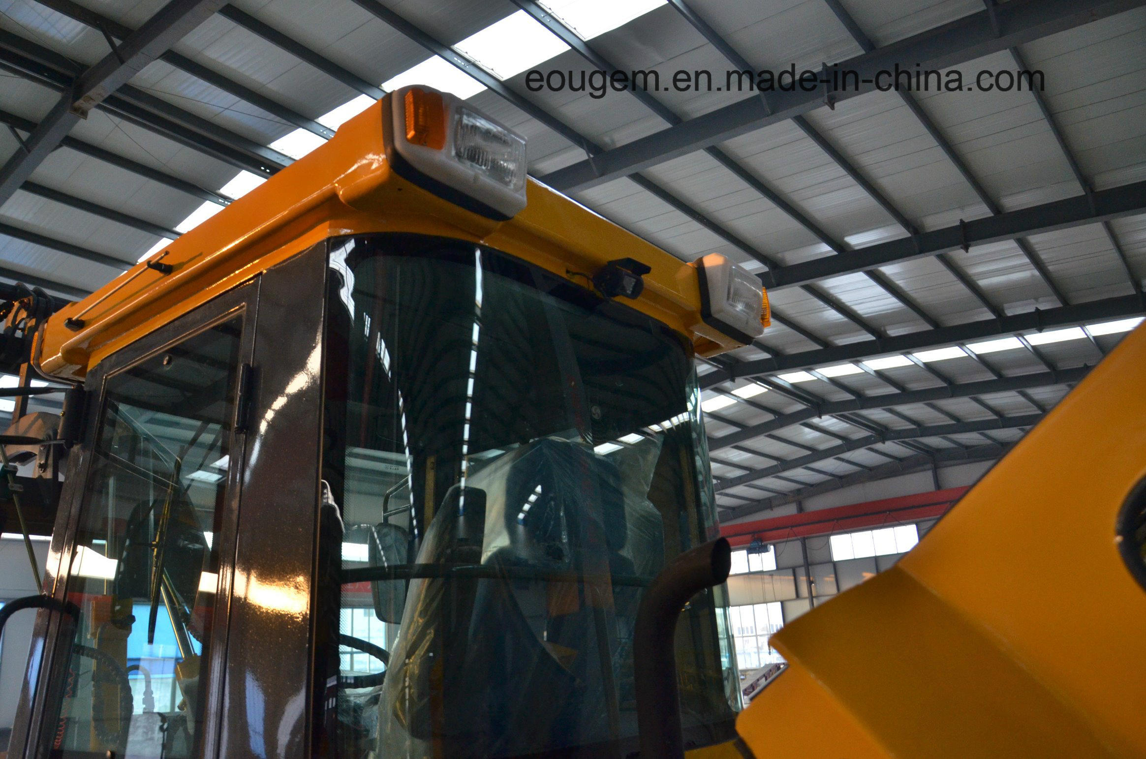Zl12 Hydraulic System Automatic Driving Mini Wheel Loader