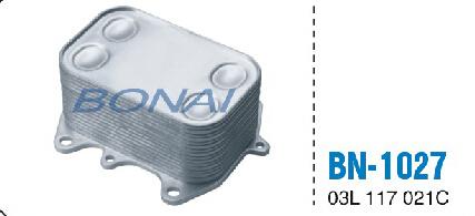 Aluminum Engine Oil Cooler for VW (036 117 021 G/E)