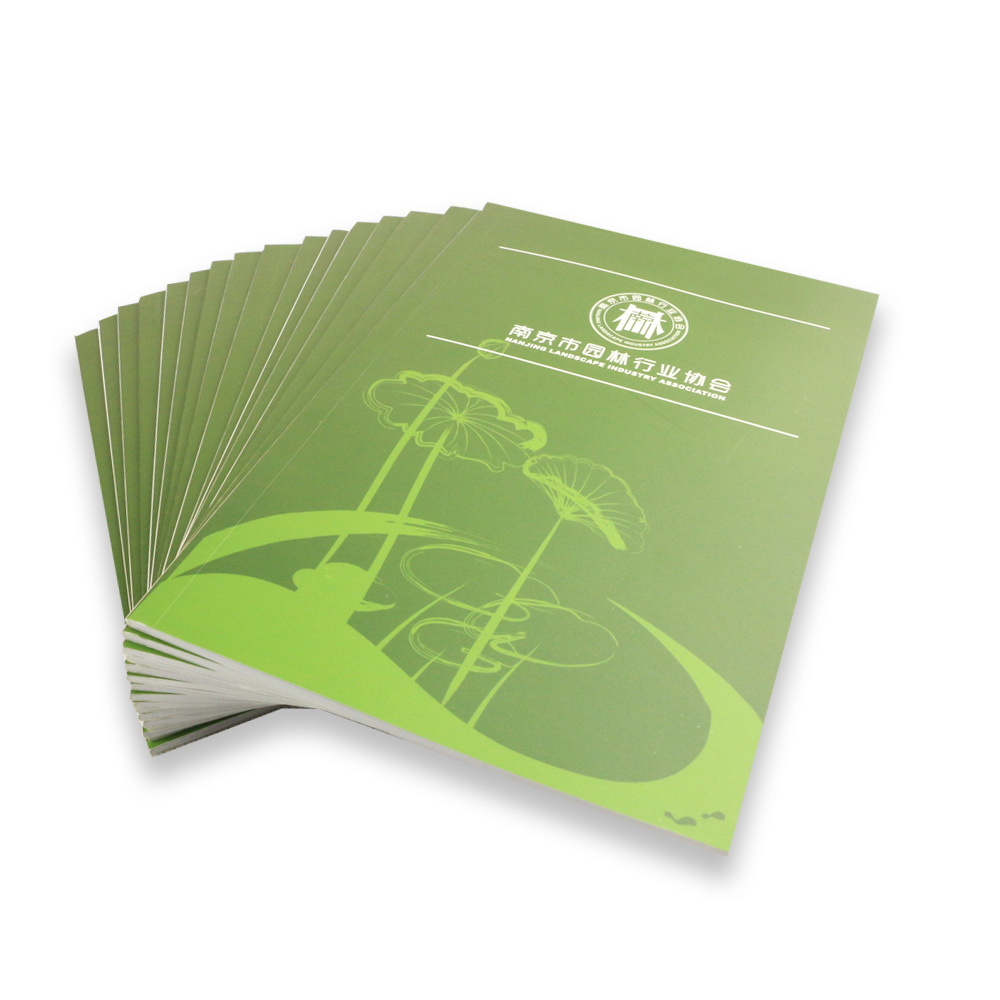Perfect Binding Professional Softcover Book Custom Brochure Printing