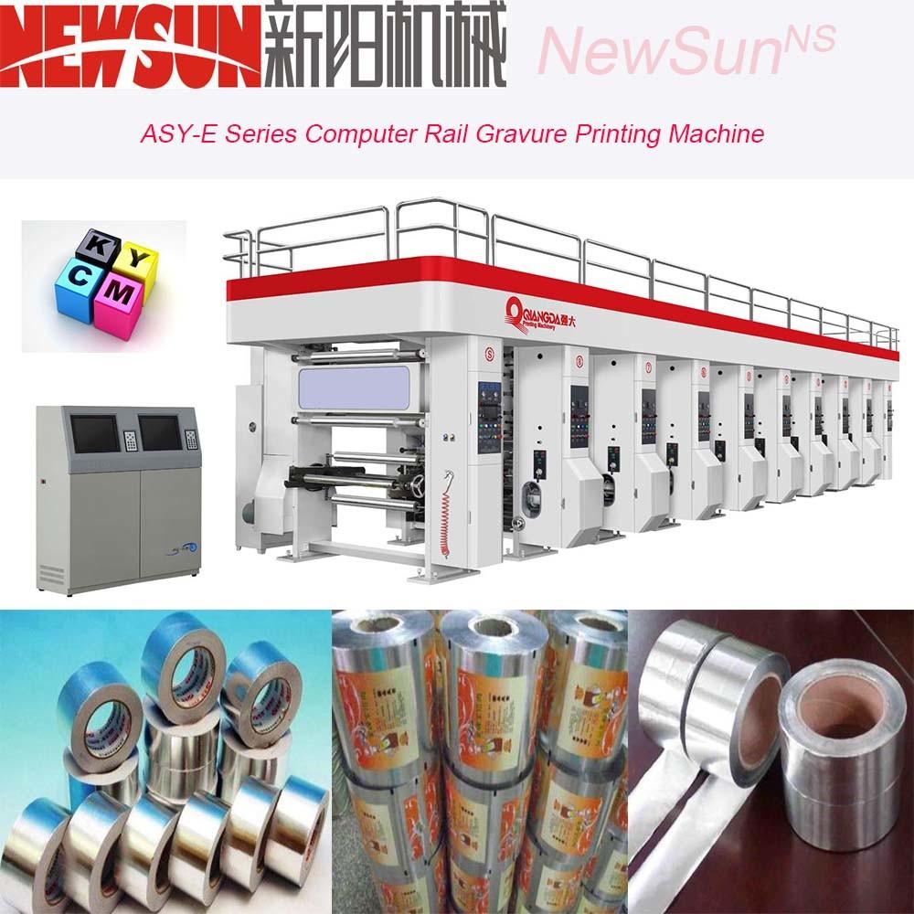 Asy-E Series Computerized Rail Aluminum Foil Gravure Printing Presses