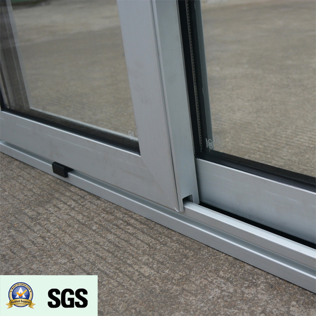 Good Quality Powder Coated Thermal Break Aluminum Sliding Window K01065