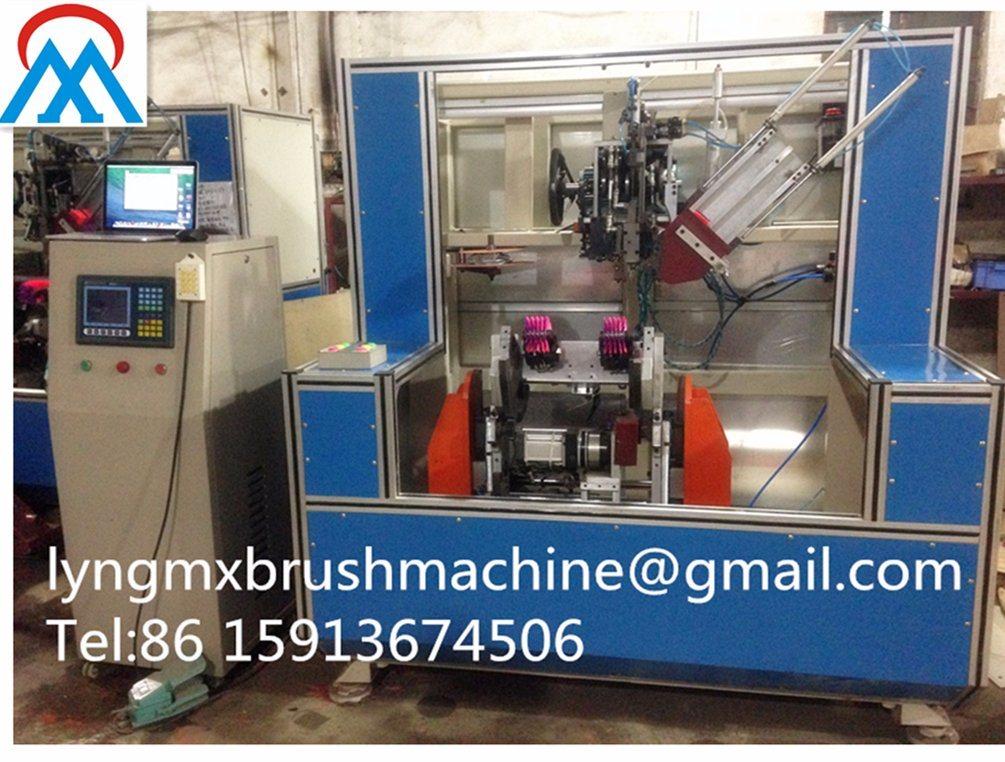 5 Axis CNC India Double Hocky Brush Machine