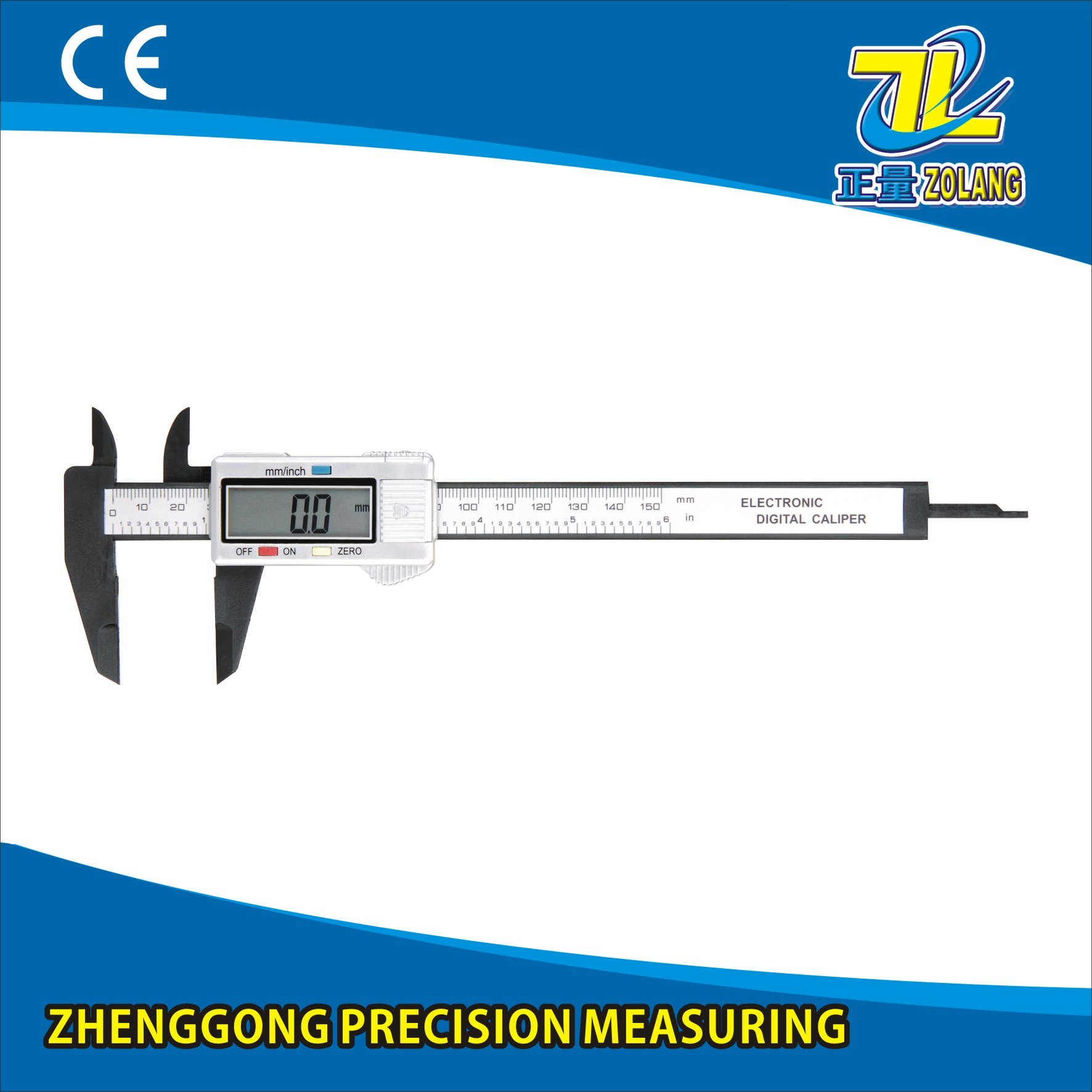 0-150mm Plastic Digital Caliper Hot