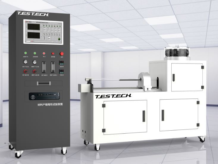 Mouse Test Machine for Noxious Gas Analysis, DIN53436, (FTech-DIN53436)